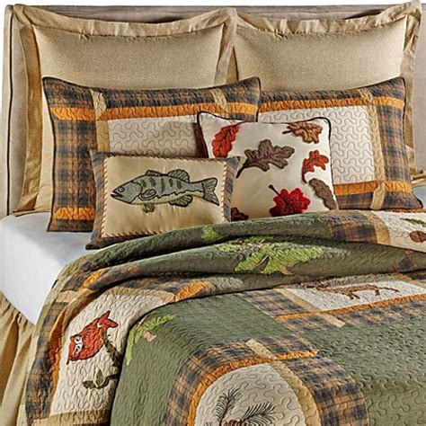 forest friends bedding forest friends quilt bed bath beyond