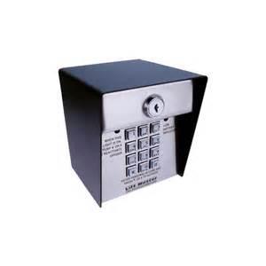 Garage Door Keypad Liftmaster Buy Liftmaster 466lm Wireless Commercial Keypad