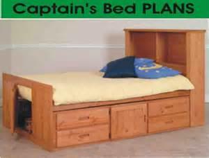 Bed Designs Plans by Pdf Woodwork Captains Bed Plans Diy Plans