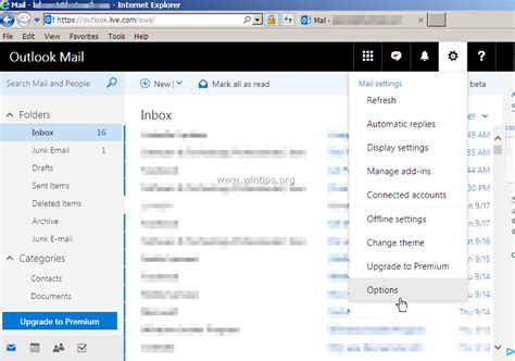 Office 365 Junk Mail Disable How To Disable Junk Email Filter In Outlook Mail Outlook