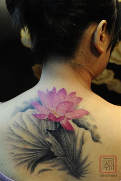Lotus On Back 38 Amazing Lotus Flower Tattoos On Neck