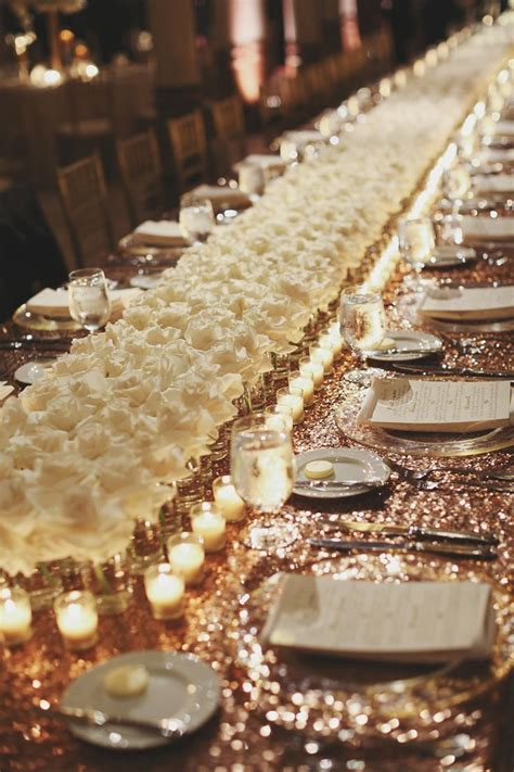 white and gold table decorations best 25 white gold weddings ideas on white