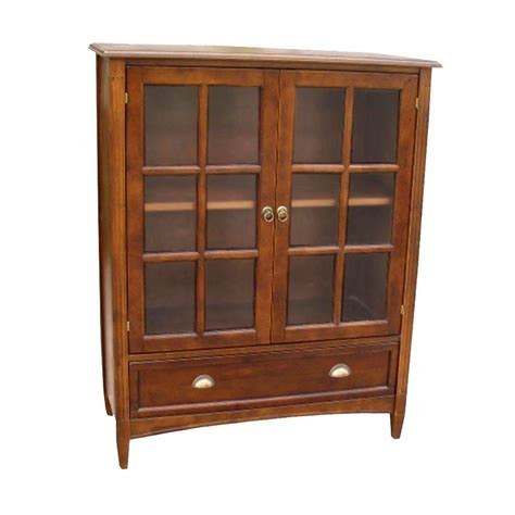 Bookcase With Glass Door By Wayborn In Bookcases Bookcases With Glass Doors