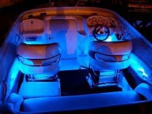 blue led boat kit interior waterproof and wireless by