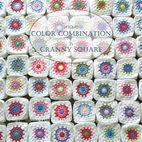 unique color combinations 16 best images about crochet loom patterns on pinterest