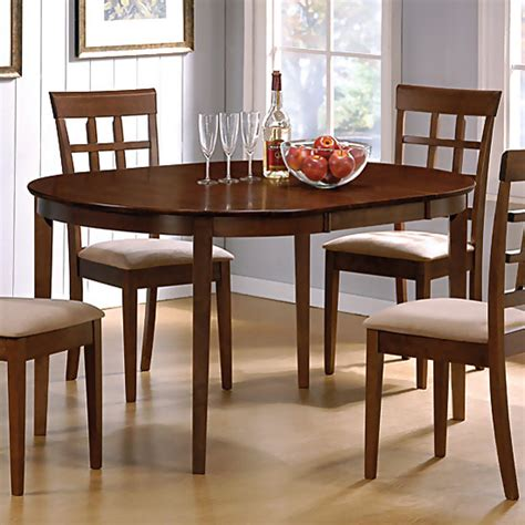 walnut dining room set walnut finish dining room set casual dinette sets