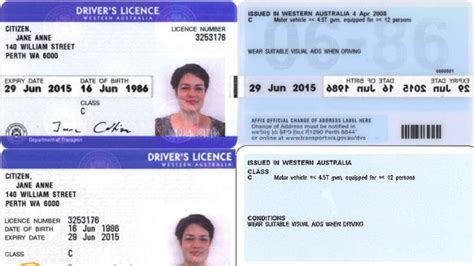boat driving licence victoria barcode serial number on licences to prevent identity theft