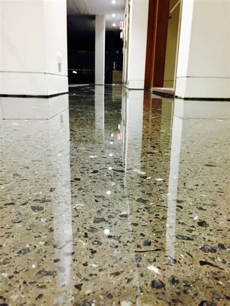 High Gloss Epoxy Office Space   Floor Illusions