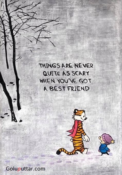 Your Amazing Quotes For Friends amazing best friend quote things are never scary when you