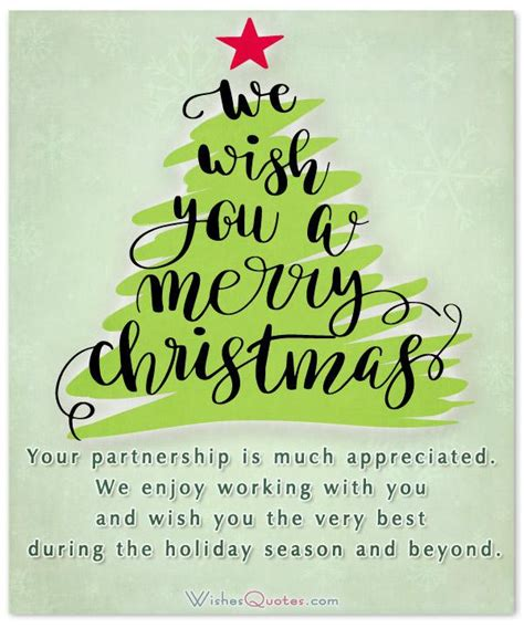 christmas messages  clients  build customer relationships