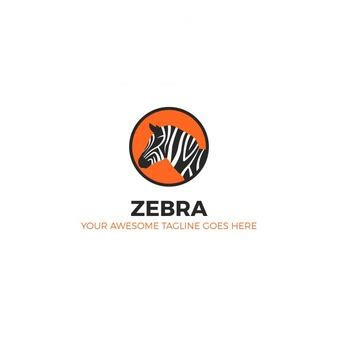 logo design zebra polygonal horse forming by triangles vector free download