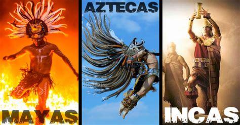 imagenes aztecas mayas descubre las diferencias entre mayas aztecas e incas de