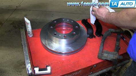 repair anti lock braking 2011 gmc savana 1500 electronic valve timing how to replace install front disc brakes chevy express gmc savana 2500 youtube
