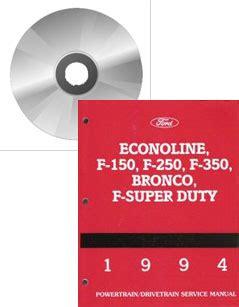 1994 Ford F150 F250 F350 Bronco F Super Duty