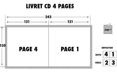format cd jaquette gabarits jaquette dvd blu ray pour duplication en gravure