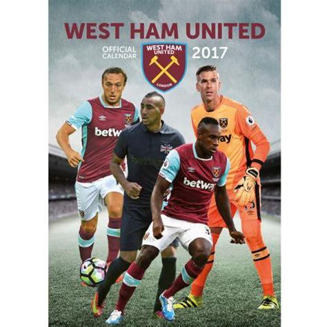 Calendario West Ham Calendarios Originales Y Frikis