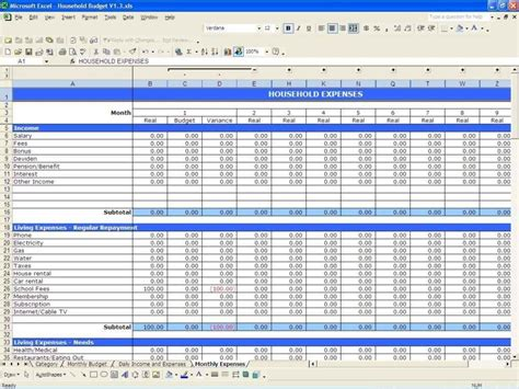 Income Expenditure Spreadsheet Template income and expense spreadsheet template excel laobingkaisuo