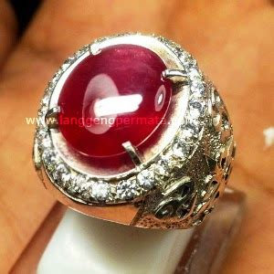 Merah Delima Net Harga ciri batu cincin kalimaya asli terpilih net