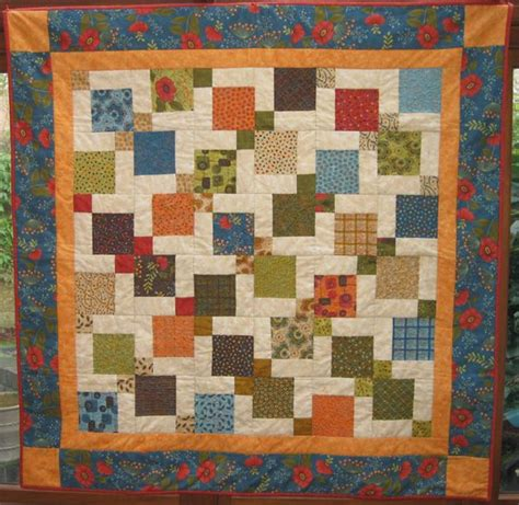 Square Patchwork Patterns - 17 best images about charm pack ideas on small