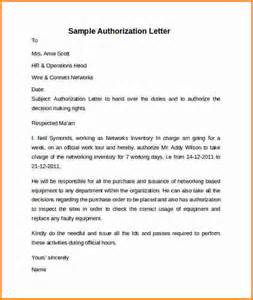 Authorization Letter Format For Collecting Documents From Bank Authorization Letter Format For Collecting Documents From