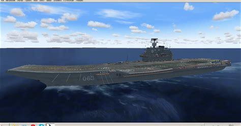 lunghezza portaerei simulazione aerea fs9 e fsx 12 05 2013 admiral kuznetsov