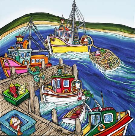 fishing boats for sale christchurch nz fishing boats by fiona whyte new zealand fine prints