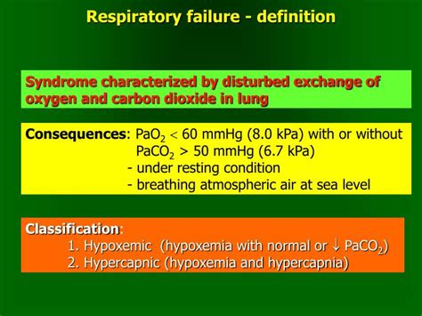 Respiratory Description by Ppt Hypoxia Respiratory Failure Powerpoint Presentation Id 3376006