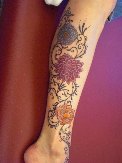 leg name tattoo designs 17 best images about leg tattoos on