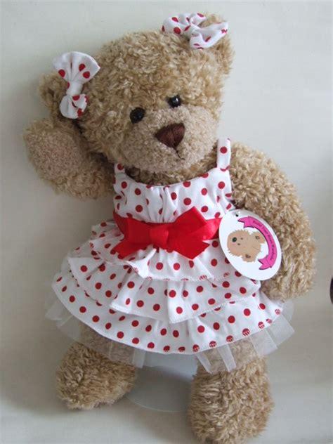 Teddy Wardrobe by Teddy Clothes Polka Dot Dress Bows