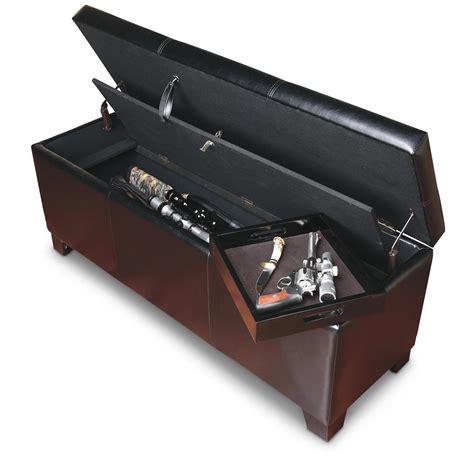 bench gun american furniture classics gun concealment bench