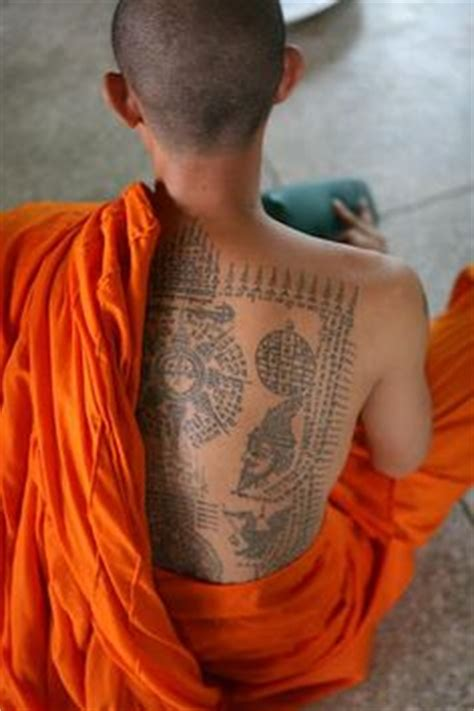 thai magic tattoos the and influence of sak yant books 1000 images about buddhist sak yant temple on