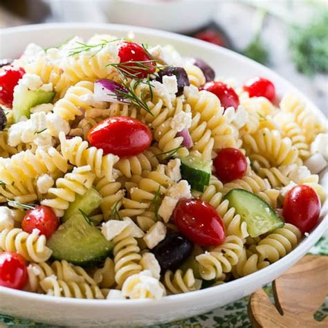 Greek Pasta Salad Recipe | greek pasta salad recipe dishmaps