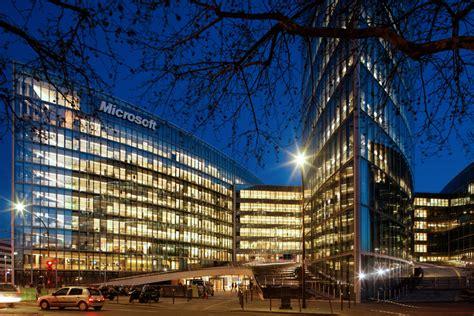 Microsoft Corporate Office by Microsoft European Headquarters Arquitectonica