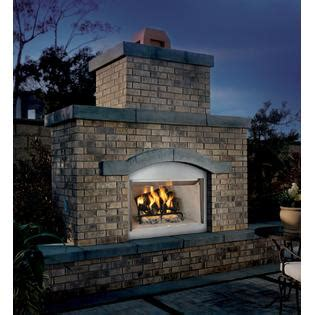 comfort flame fireplace comfort flame 36 quot stainless steel outdoor wood burning