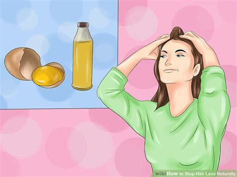 how to stop hair loss 5 methods with 3 ways to stop hair loss naturally wikihow