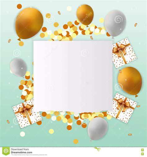 imagenes en blanco de cumpleaños tarjeta del feliz cumplea 241 os con la muestra en blanco