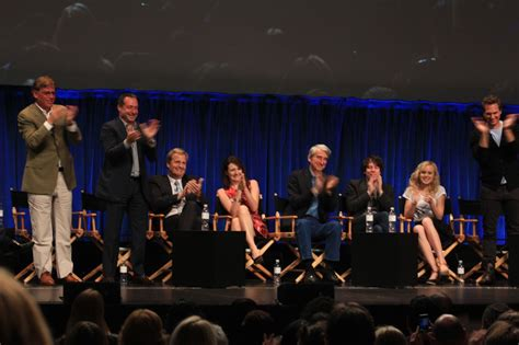 the news room cast we attend paleyfest 2013 with piers cast of the newsroom