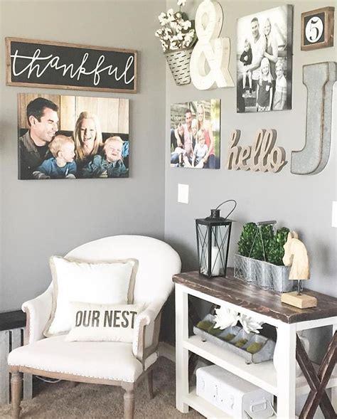 best 25 photo wall decor ideas on wall