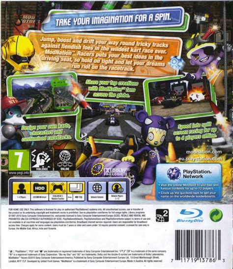 Cd Modnation Racers gamespace11box gamerankings