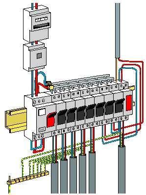 Installation électrique D Une Maison 4227 by Schema Tableau Electrique Maison Fabulous Schema