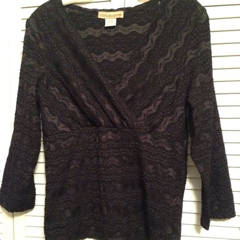 Blouse Notations 35 notations notations black lace blouse from melinda s