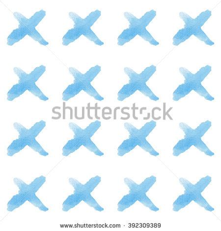 watercolor check pattern check mark vector hand drawn icon stock vector 400772605