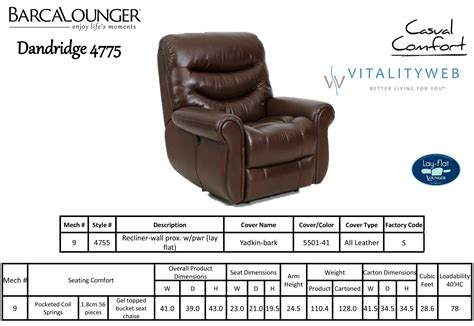 recliner size barcalounger dandridge ii lay flat wall away hugger