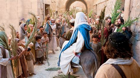 why palm sunday stepping stones