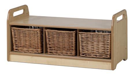 low storage bench low level storage bench