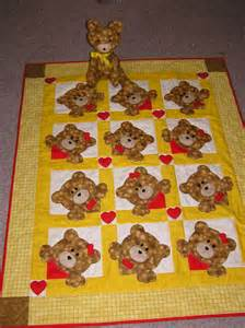 1000 images about teddy quilt ideas on