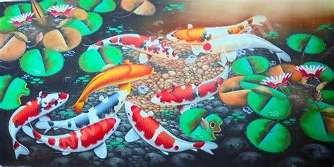 Ikan Keranjang Bali k 16 lukisan ikan koi www lukisan minimalis