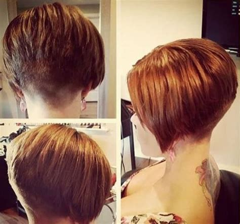 short hairstyles shaved at the nape back view 71 best images about short nape on pinterest inverted