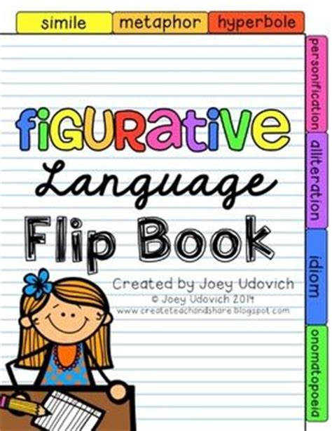 picture books to teach figurative language figurative language figurative and flip books on