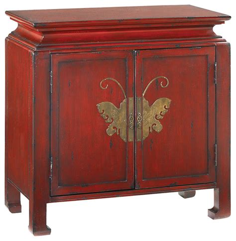 Cabinets And Chests by Treasures Butterfly Chest Accent Chests